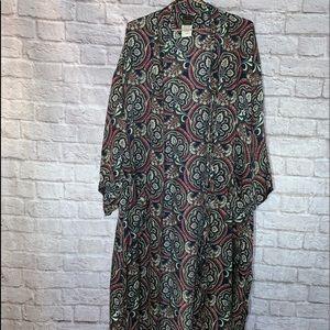 Vntg Silk Kimono
